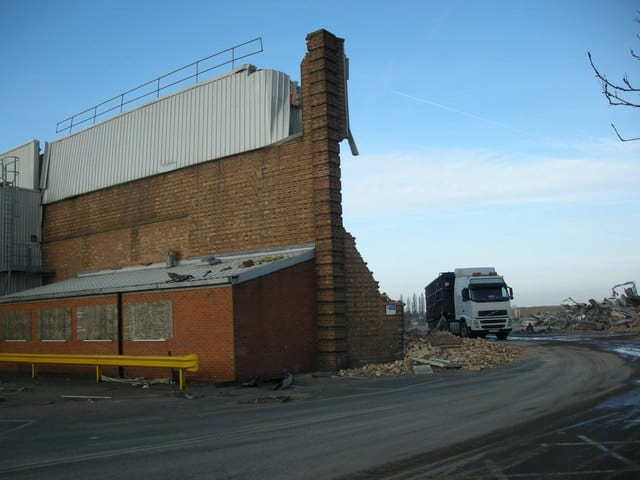 ryton car factory being torn down