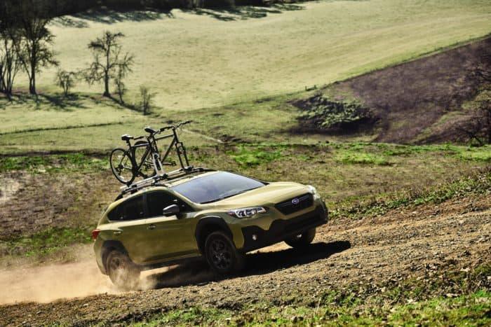 Subaru 2021 Crosstrek Sport driving
