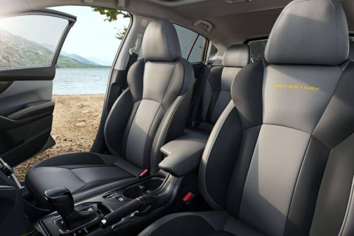 Subaru 2021 Crosstrek Sport's seats