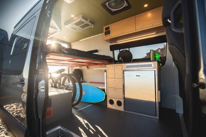 Outside Van best 4x4 camper vans