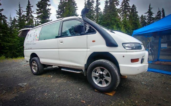 Mitsubishi Delica Camper