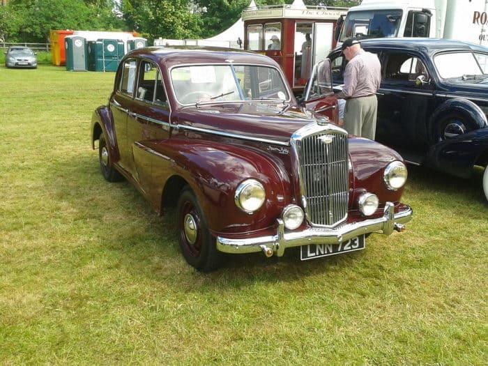 1950 Wolseley four fifty british car
