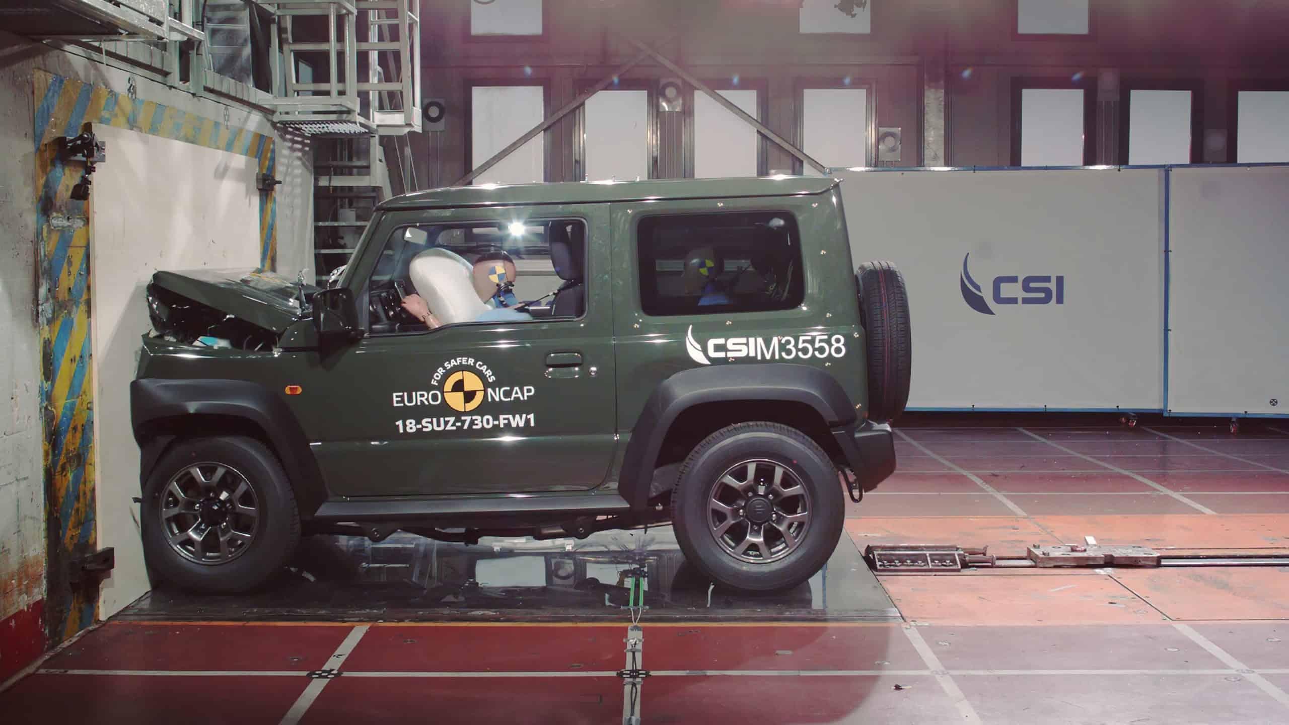 Would the Suzuki Jimny past the U.S. crash test