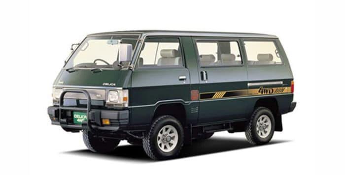 Second-generation Mitsubishi Delica Star Wagon