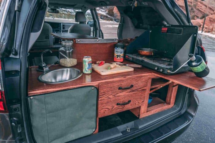 Oasis Toyota Sienna AWD camper van