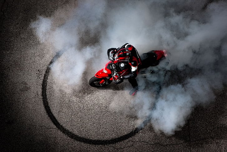 Ducati burnout