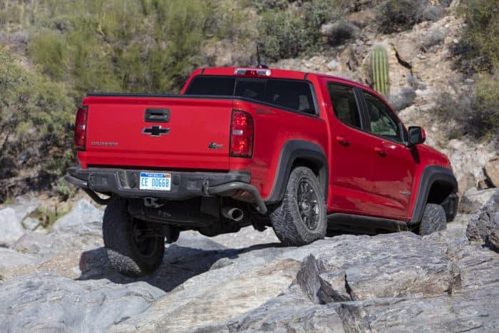 best 4x4 truck 2019 Chevrolet Colorado ZR2 Bison