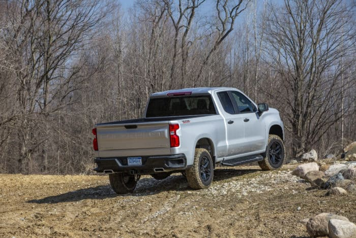 best 4x4 truck 2020 Chevrolet Silverado Custom Trail Boss