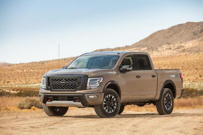 best 4x4 truck 2020 Nissan Titan ProX4