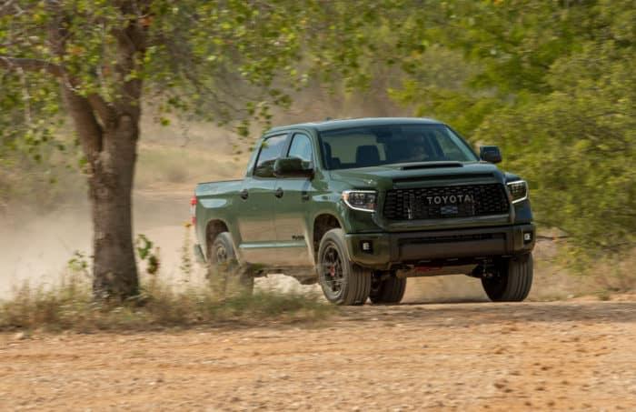 Best 4x4 truck 2020 Toyota Tundra TRD Pro Army Green