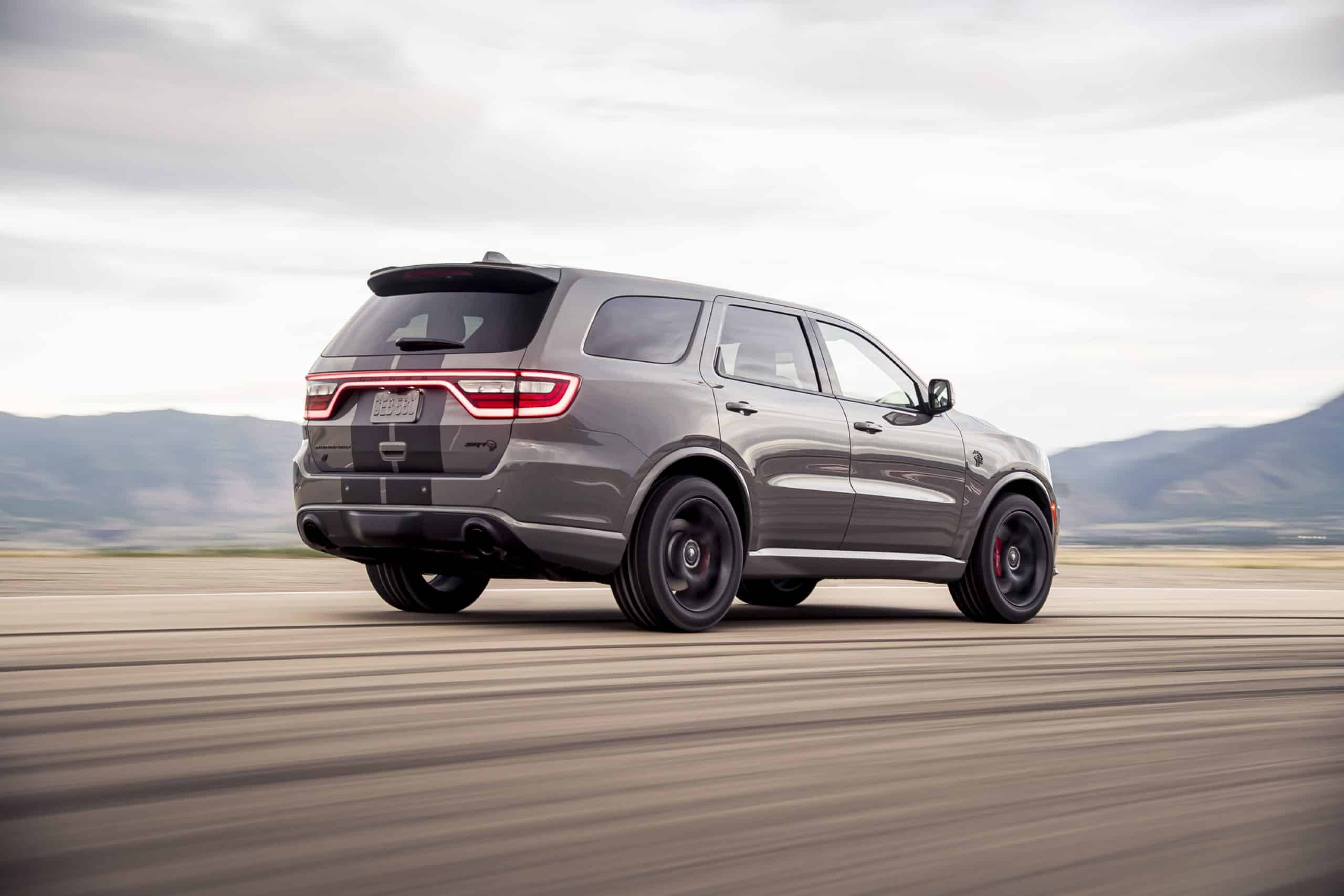 2021 Dodge Durango SRT Hellcat rear three quarter