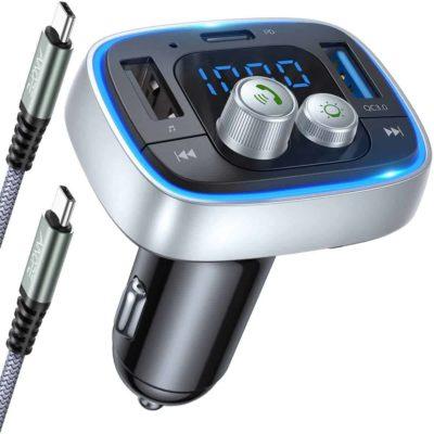 AINOPE FM Transmitter Bluetooth