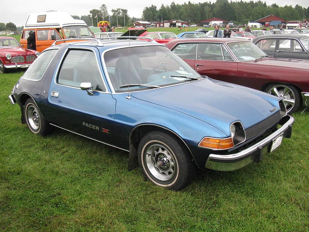AMC Pacer blue