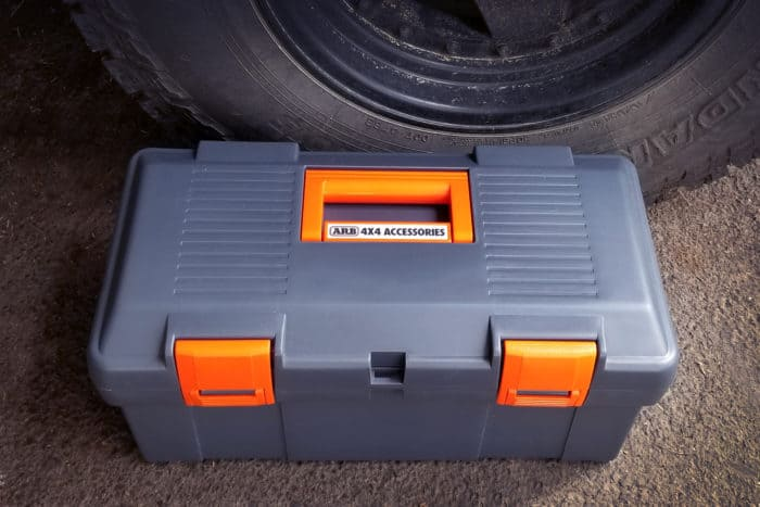 ARB single portable air compressor box closed