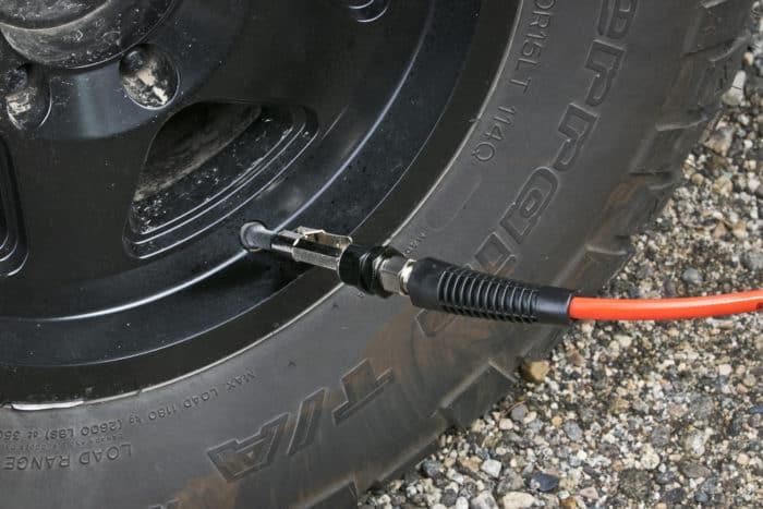 ARB air compressor nozzle