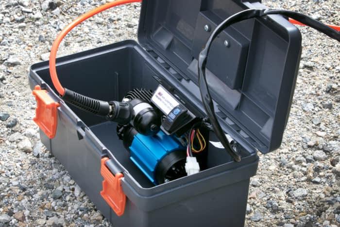 ARB single portable air compressor CKMP12 box shot