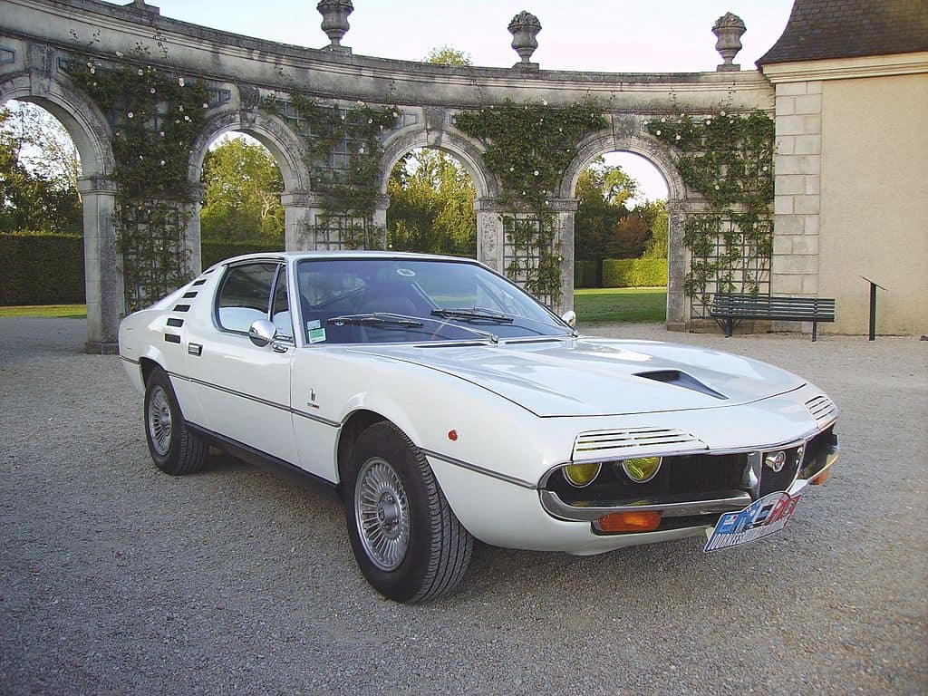 Alfa Romeo Montreal obscure import classic