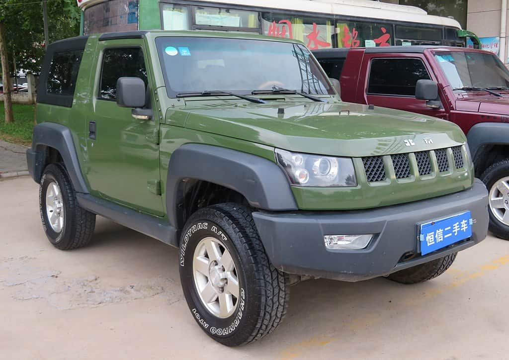 2020 BAIC BJ40 copied car