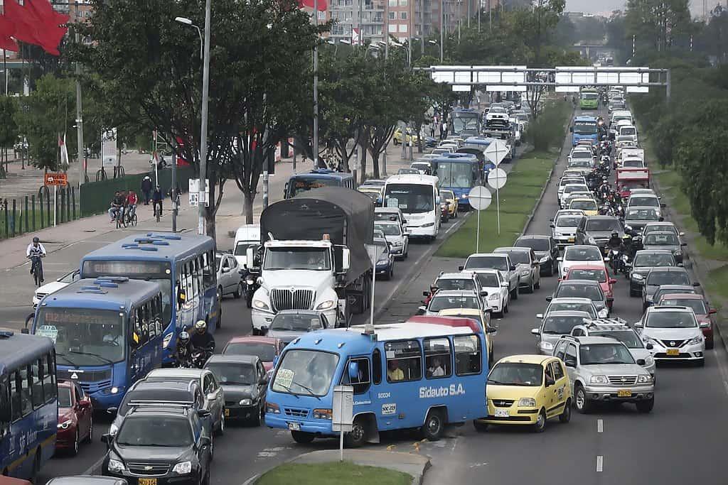 Bogota traffic
