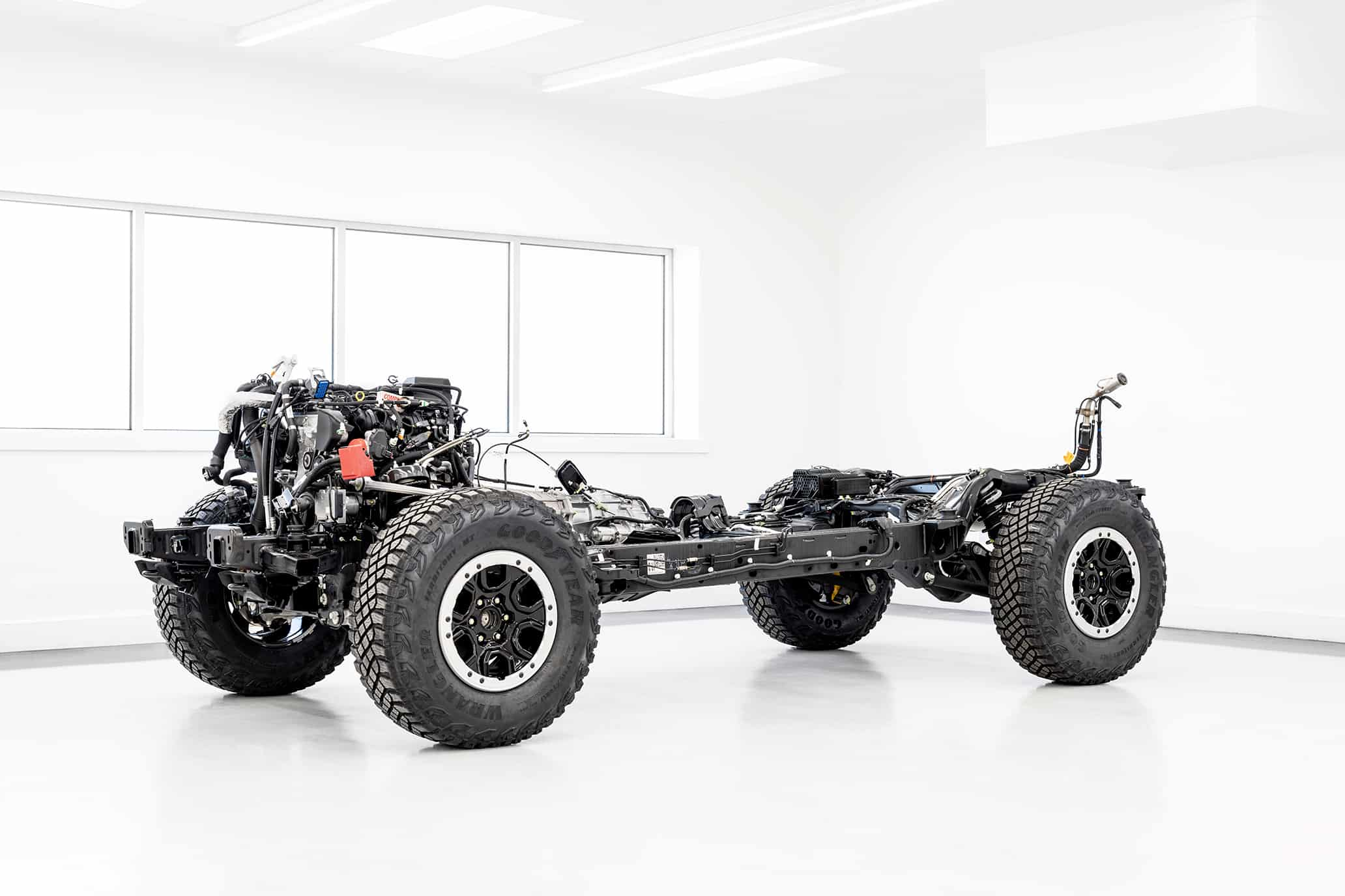 2021 Ford Bronco chassis