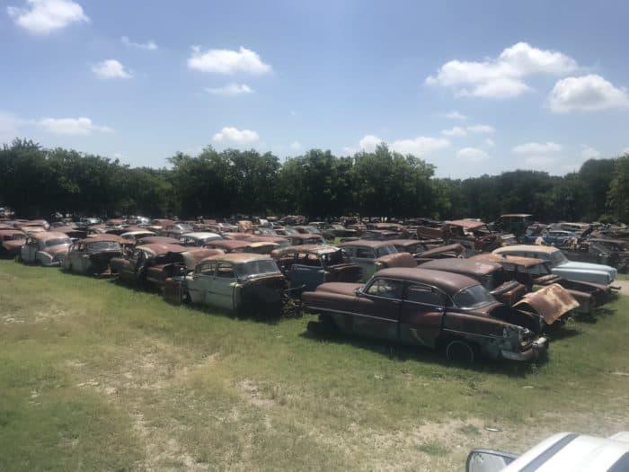 CTC Auto Ranch classic car junkyard