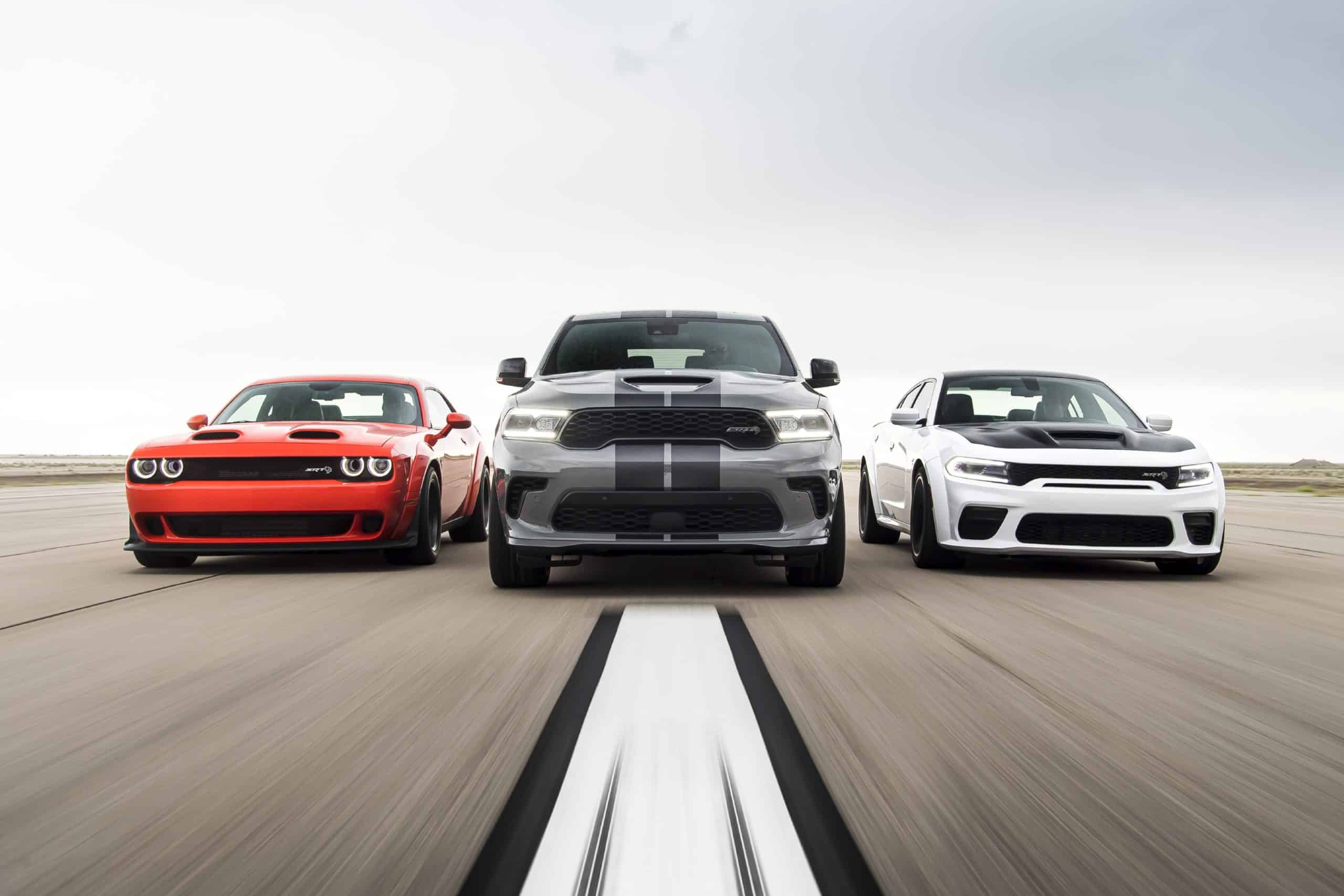 dodge now offers a 710 hp srt hellcat version of every
