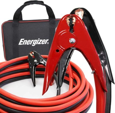 3. Energizer 1-Gauge 800A Heavy Duty Jumper Cables