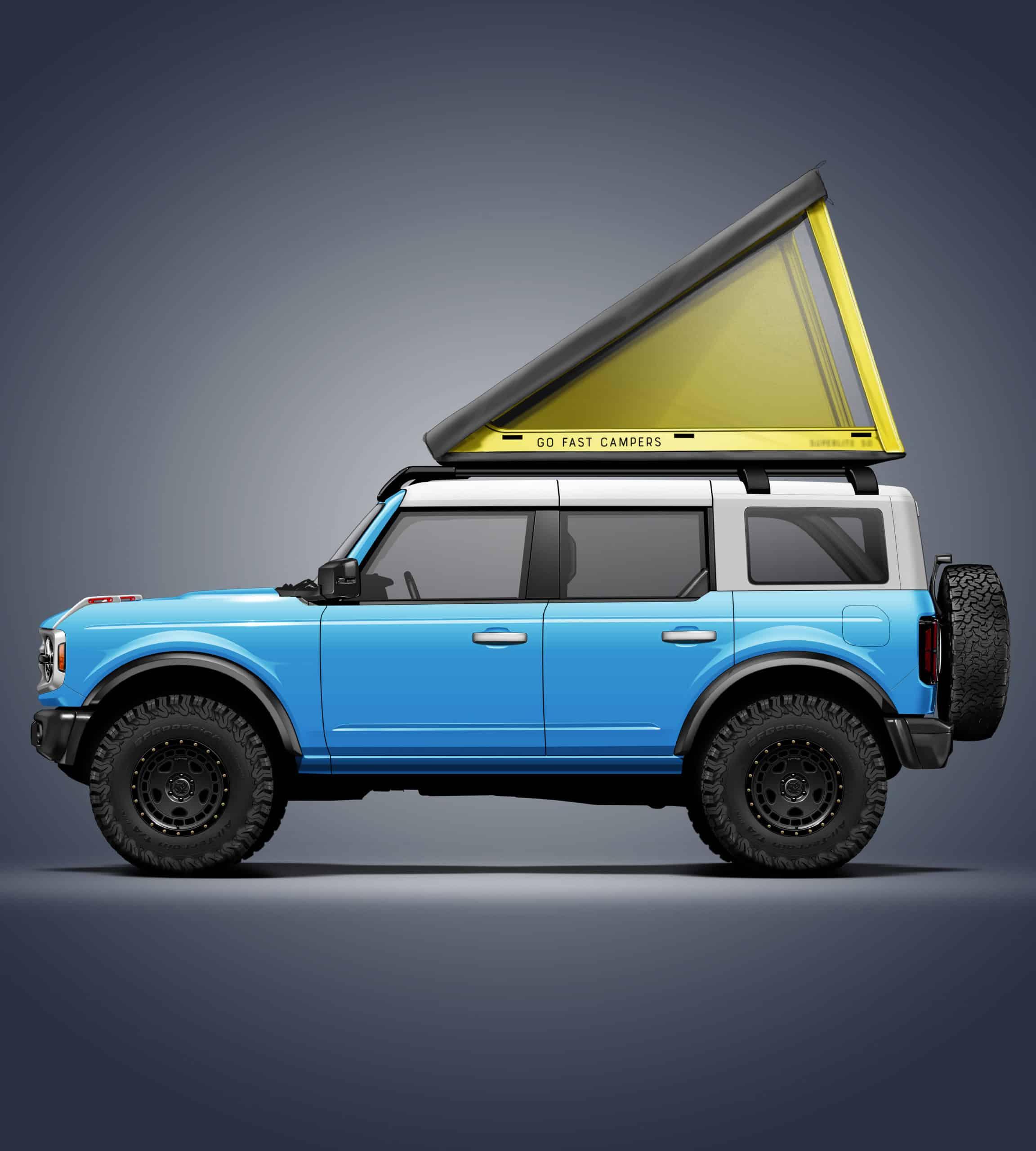 GFC SuperLite 50 RTT on 2021 Ford Bronco 4 Door