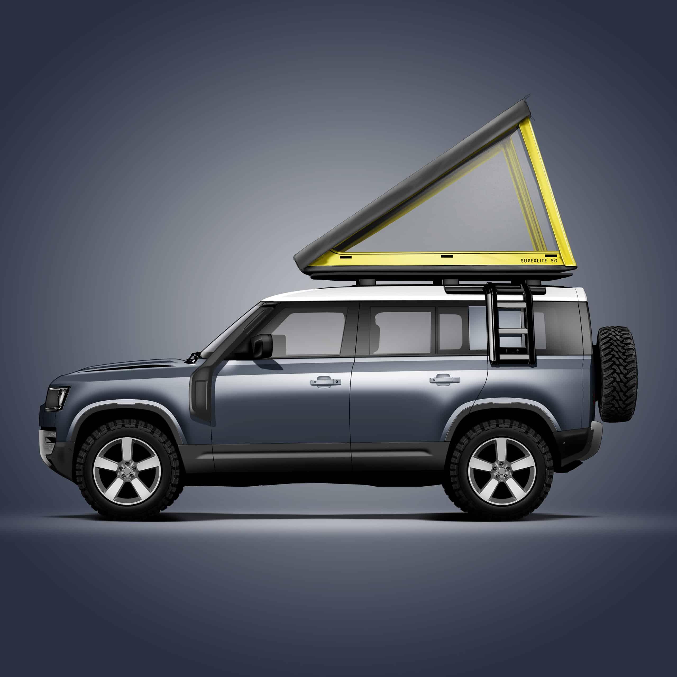 GFC SuperLite 50 RTT on 2021 Land Rover Defender 110