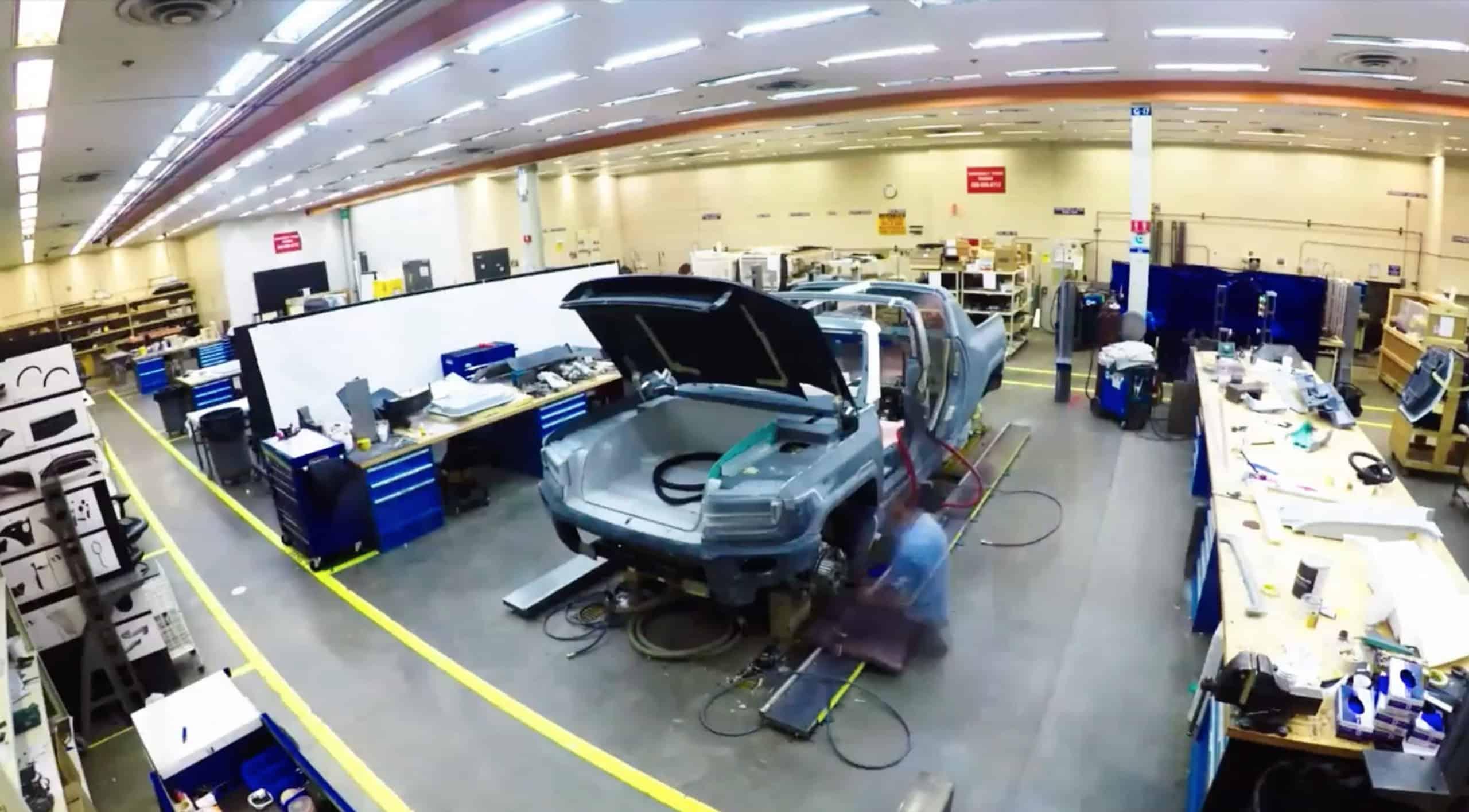 GMC Hummer EV Supertruck Prototype Build