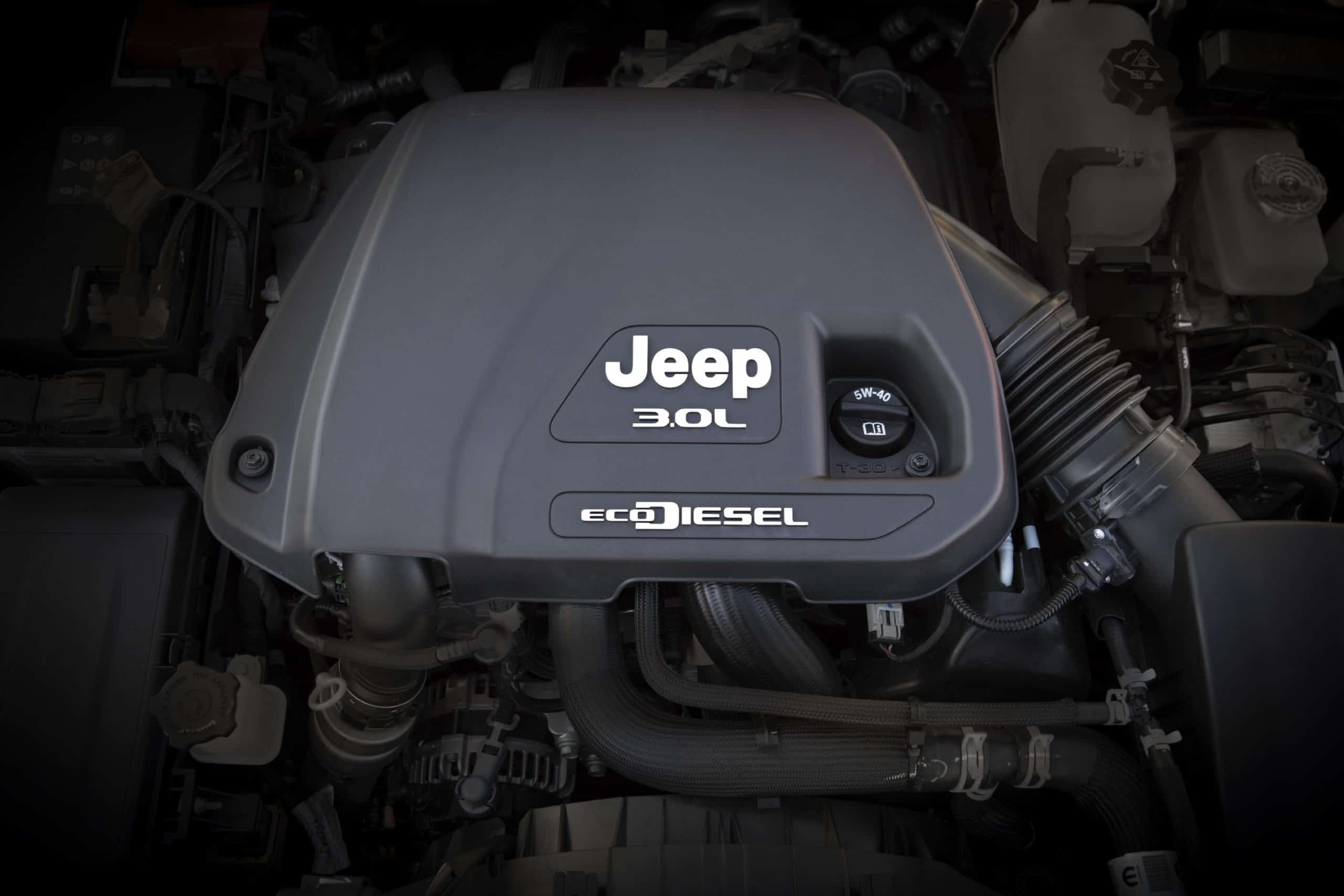 Jeep EcoDiesel engine in Wrangler
