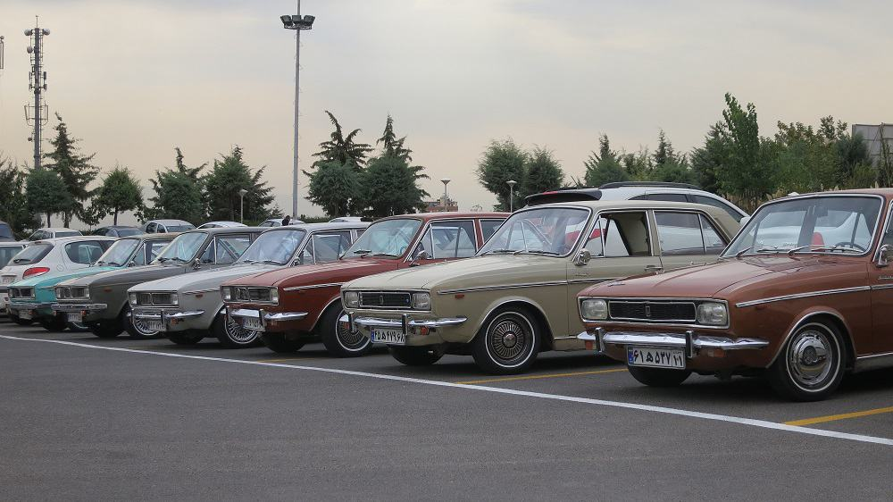Paykan gathering in Northern Tehran