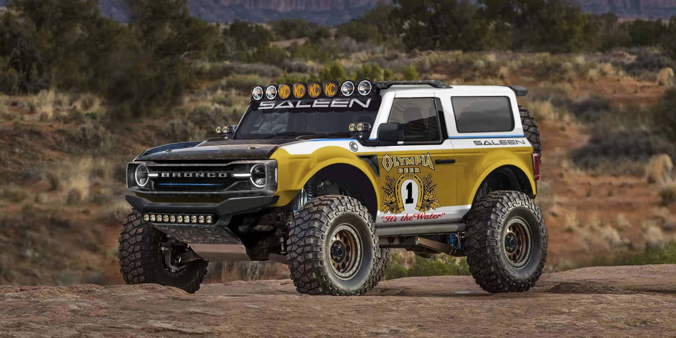 2021 Saleen Big Oly Bronco render