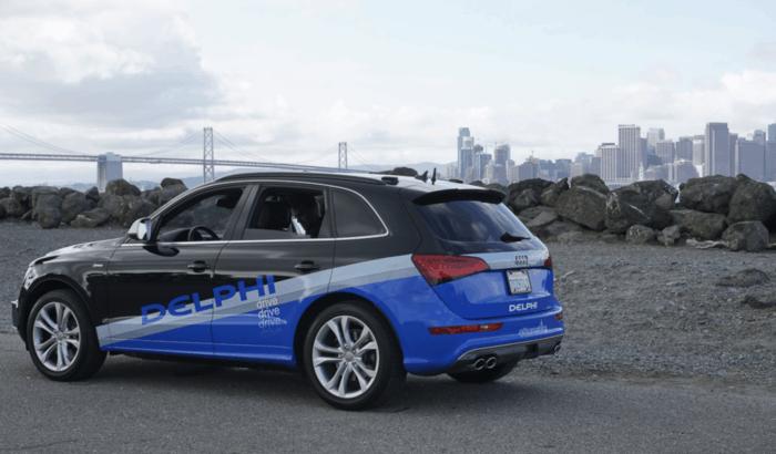 Delphi Audi semi-autonomous suv
