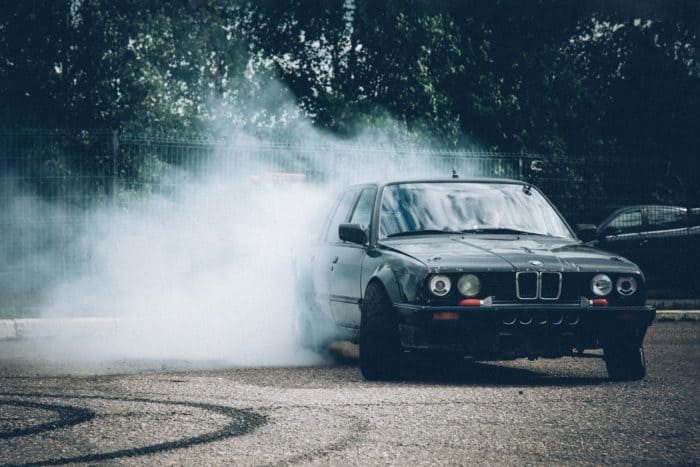 bmw burnout