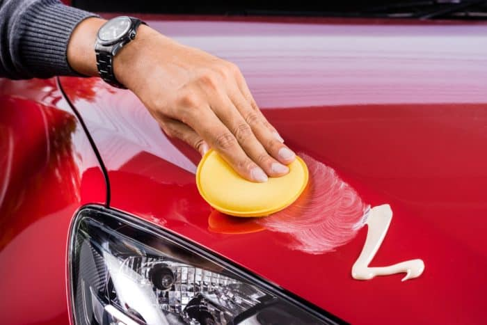Waxing the Car