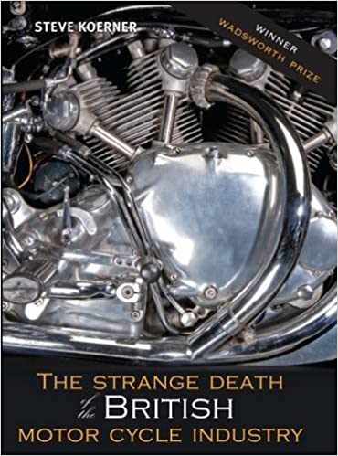 Strange Death of the British Motor Cycle Industry Book