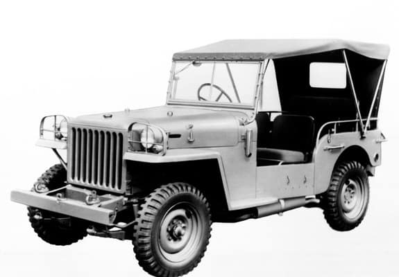 1951 Toyota Jeep-BJ