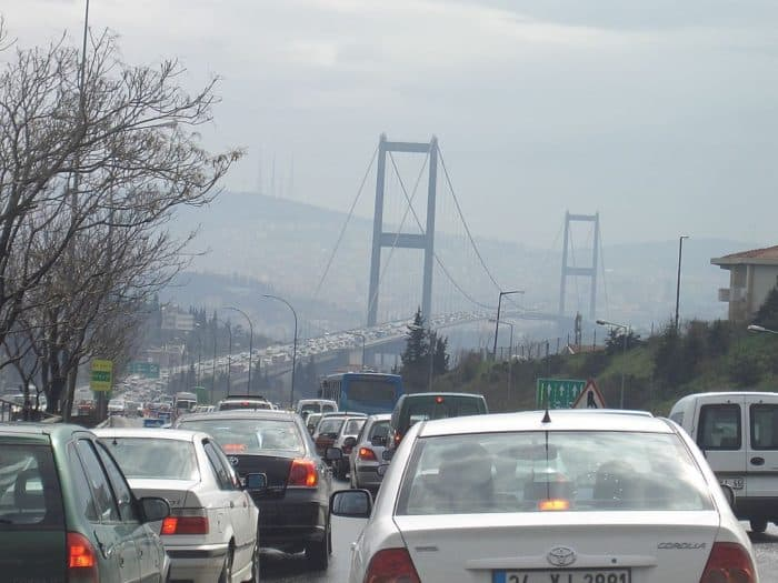 worst traffic cities in the world Istanbul