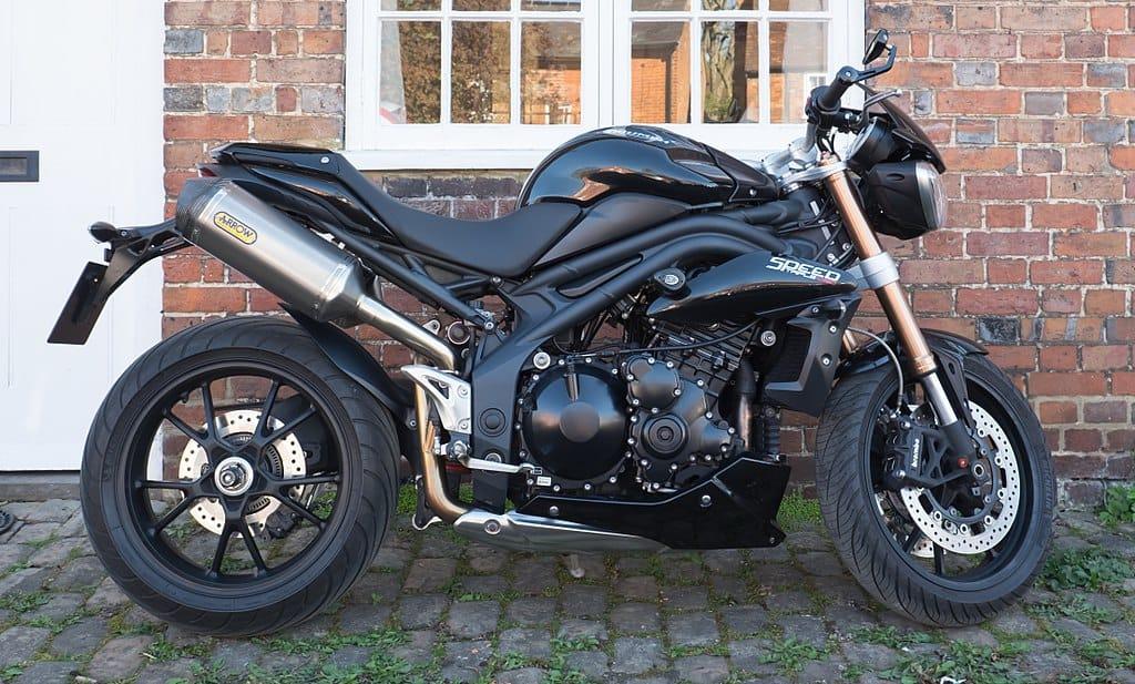 Triumph Speed Triple British motorcycle