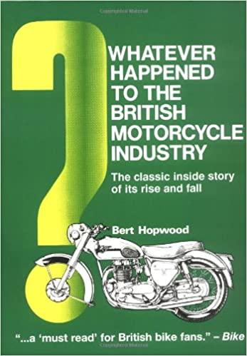 Whatever Happened British Moto Industry Book