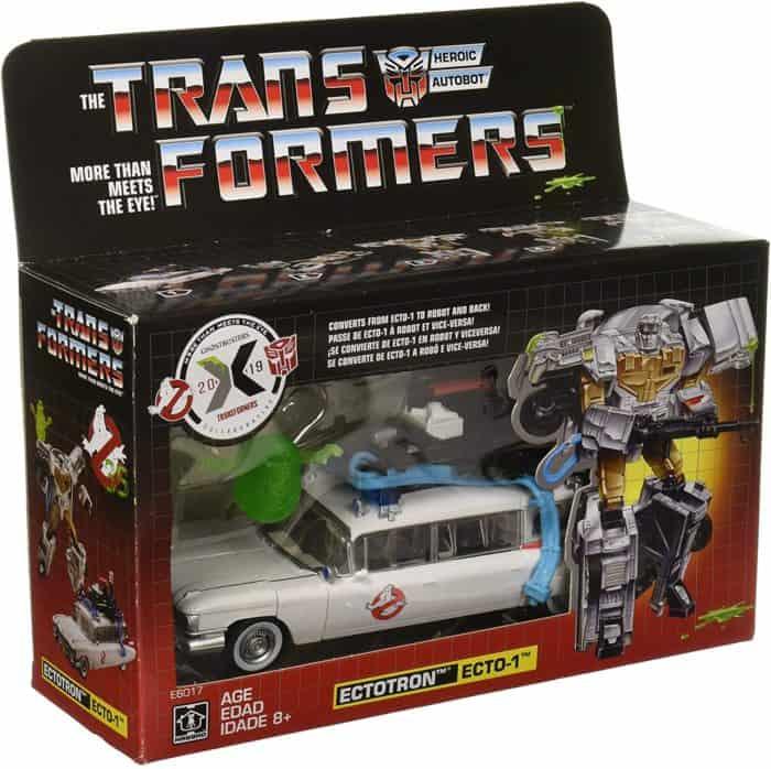 Transformers Ghosbusters car