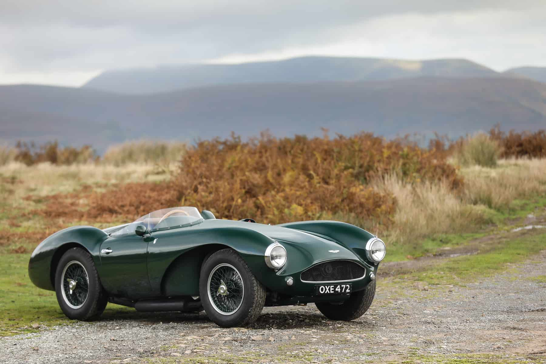 passion of a lifetime auction 1955 Aston Martin DB3S