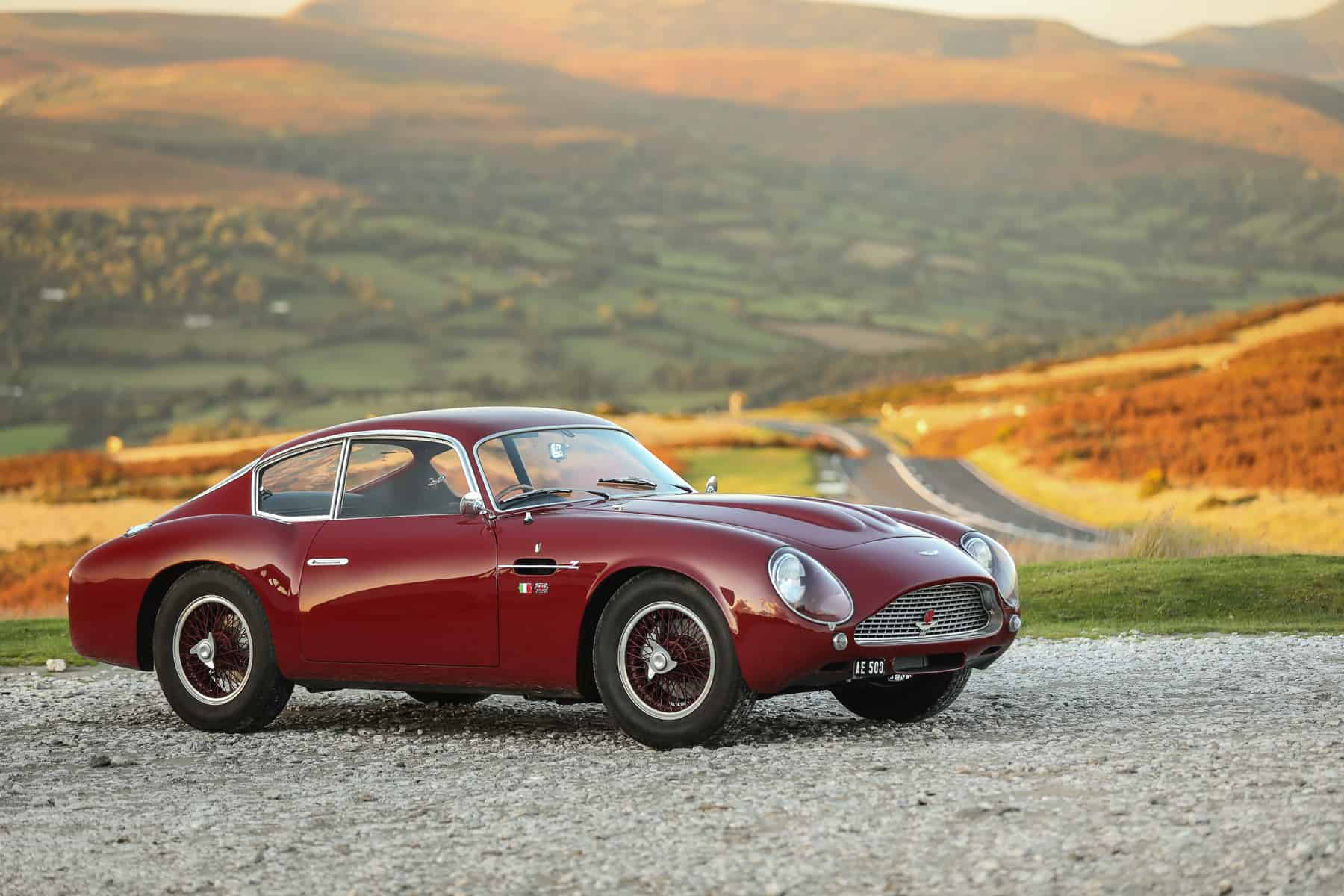 gooding & company passion of a lifetime auction 1961 Aston Martin DB4 GT Zagato