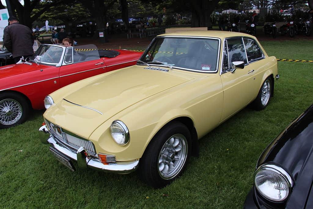 1968 MGC GT MKI