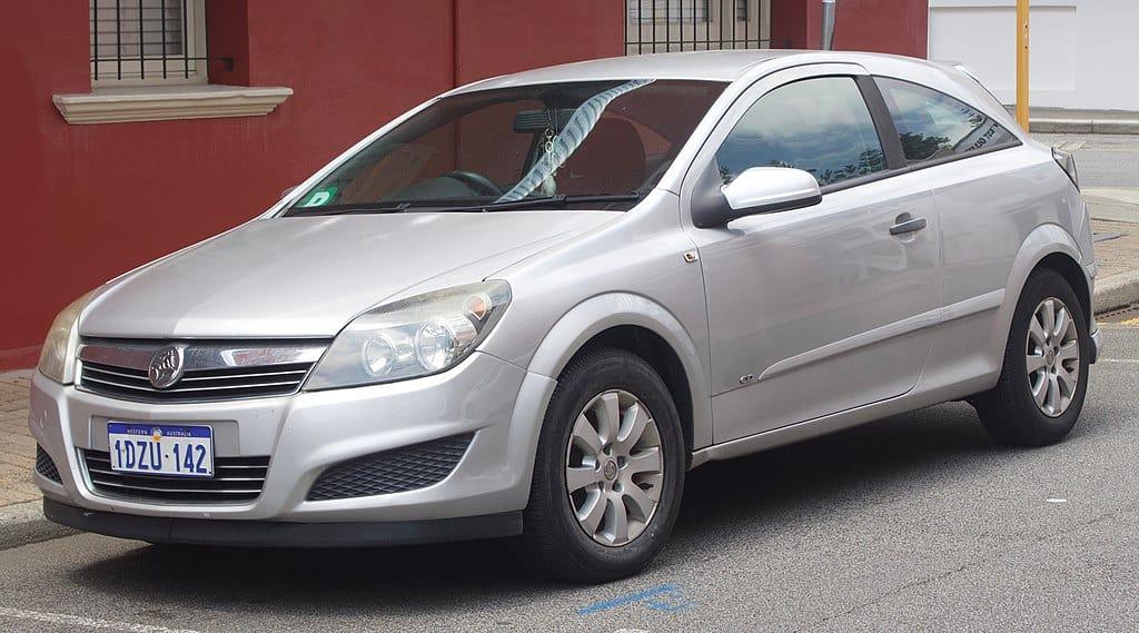 2007 Holden Astra Recalled