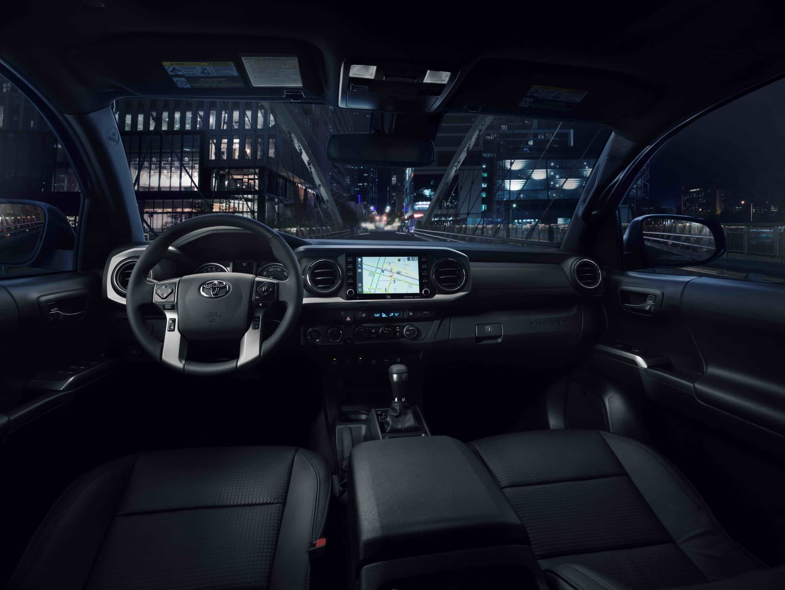 2021 Toyota Tacoma Nightshade interior