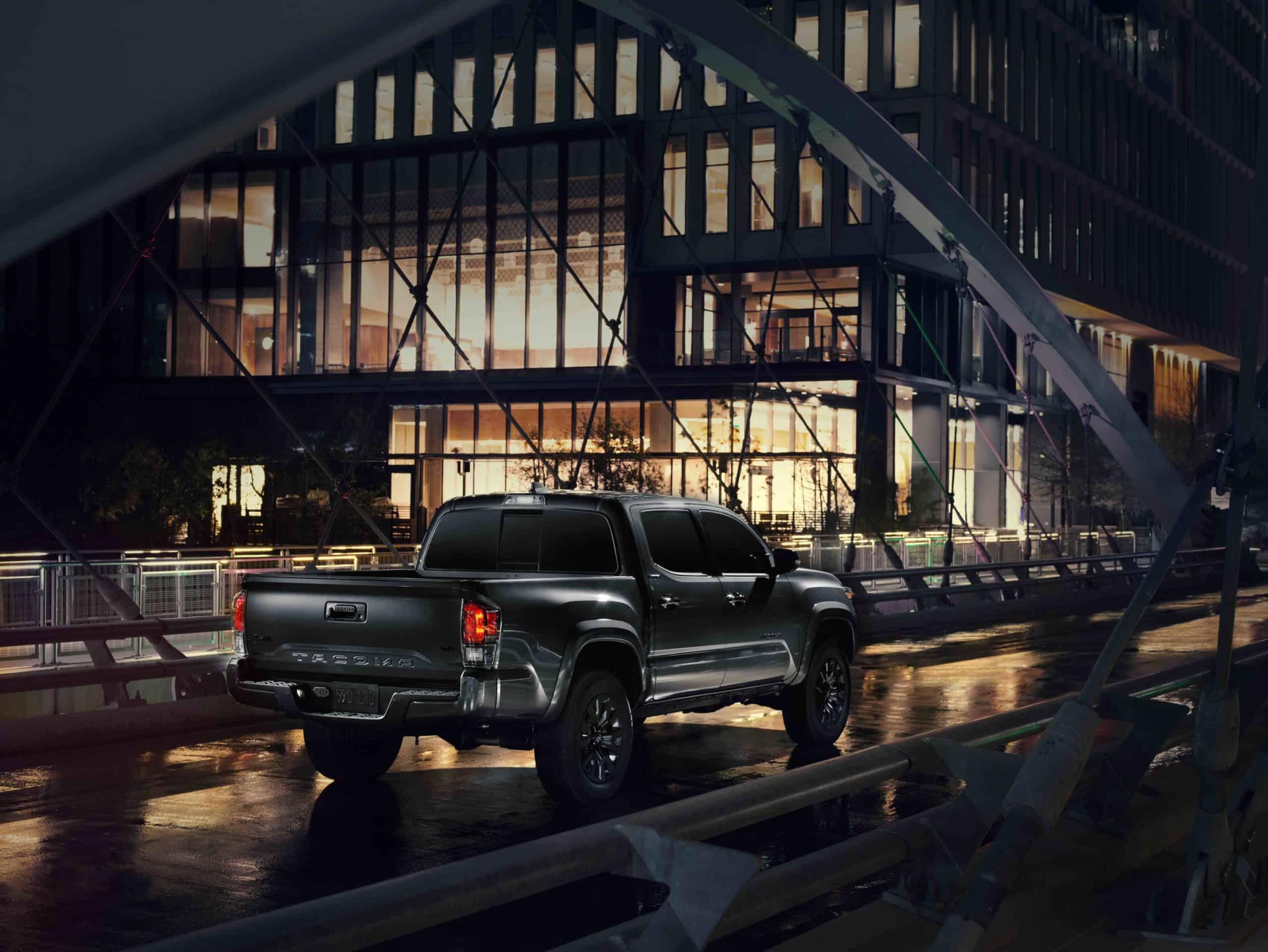 2021 Toyota Tacoma Nightshade Rear