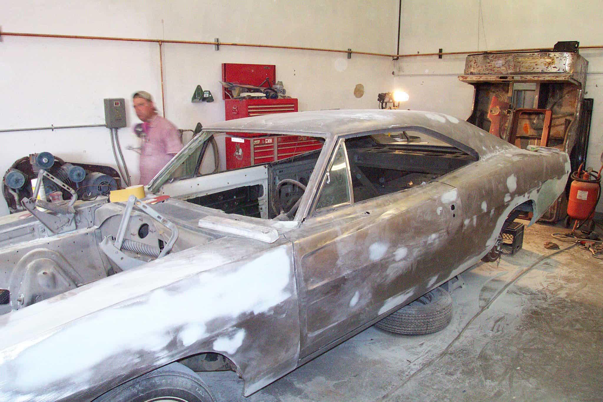 Restoring a Classic Car asbestos exposure