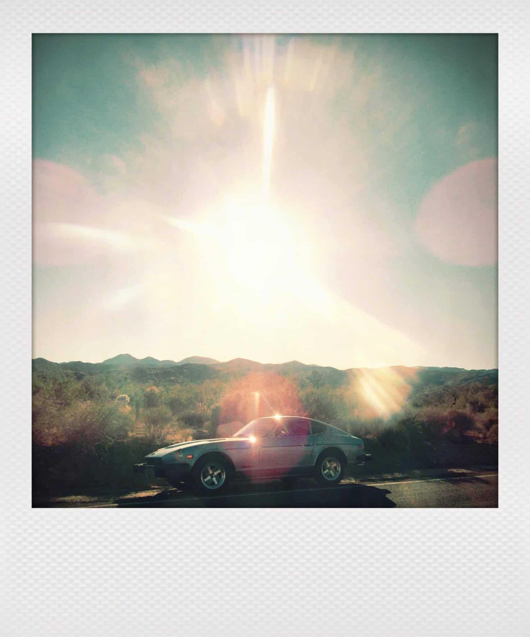 Datsun 280Z polaroid